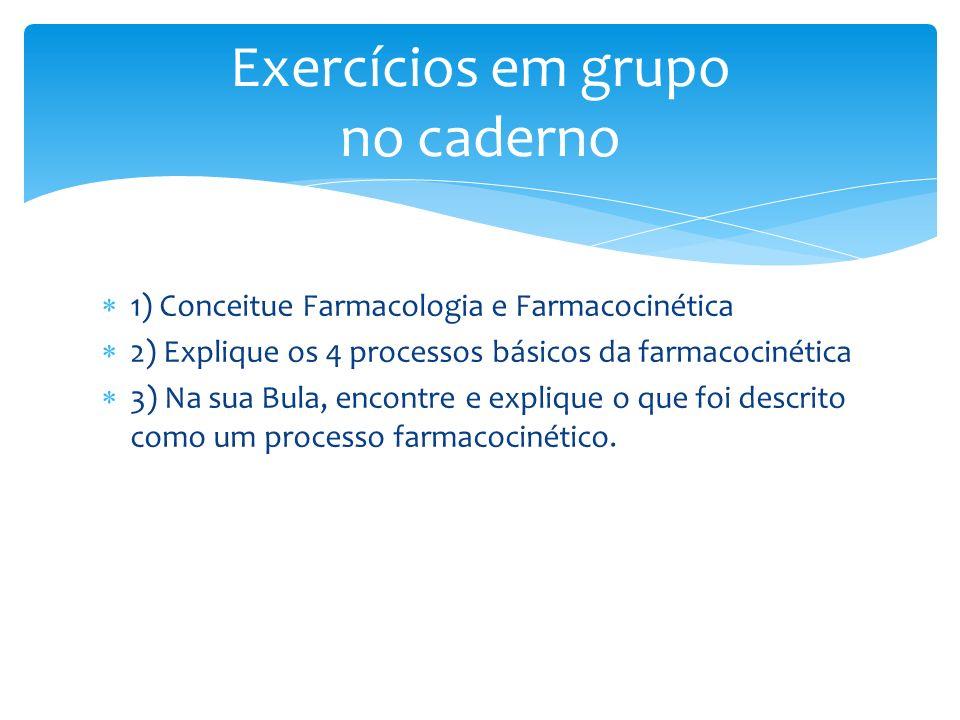 Exercícios em grupo no caderno