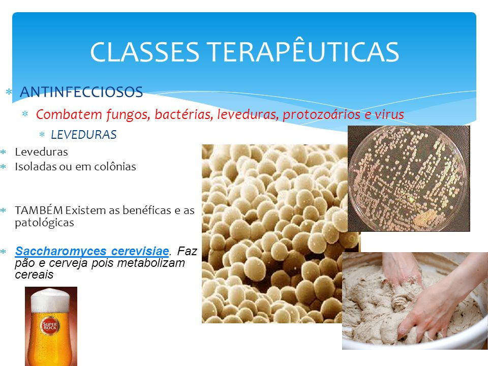 CLASSES TERAPÊUTICAS ANTINFECCIOSOS