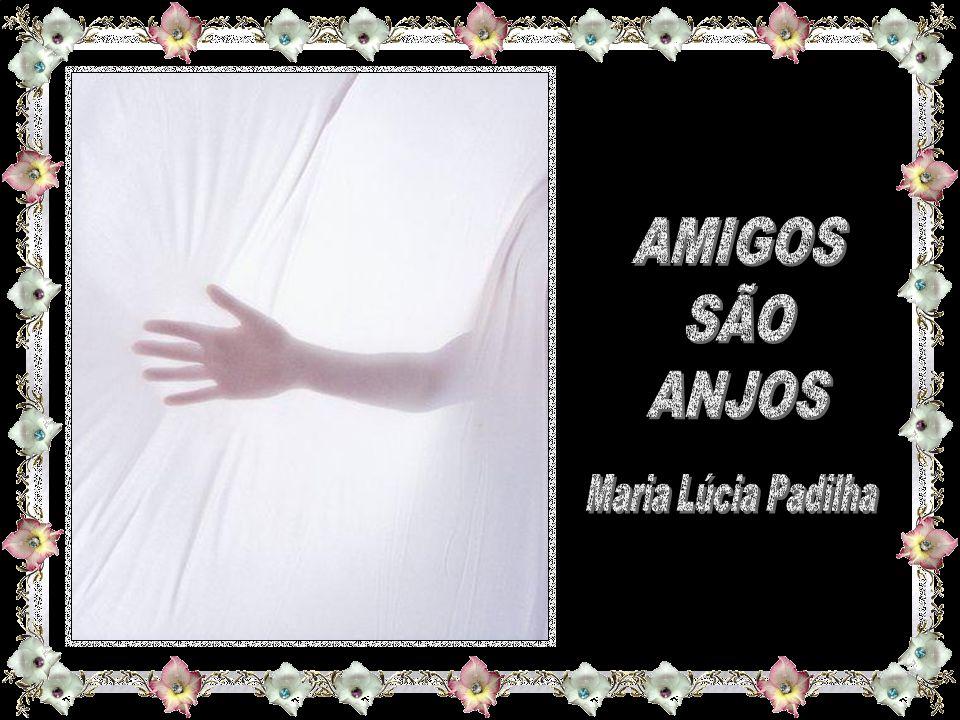 AMIGOS SÃO ANJOS Maria Lúcia Padilha