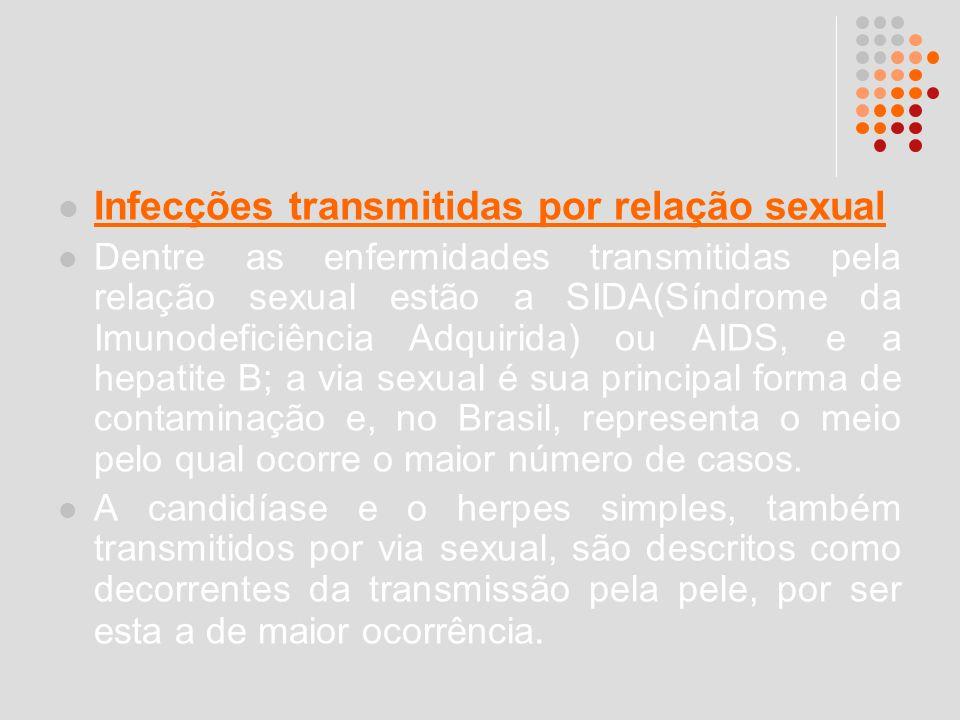 Infecções transmitidas por relação sexual