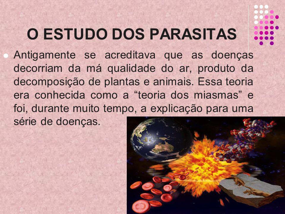 O ESTUDO DOS PARASITAS