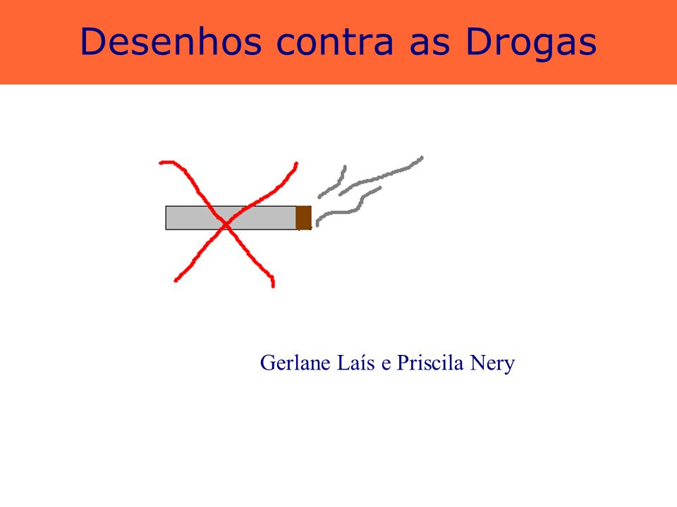 Desenhos contra as Drogas