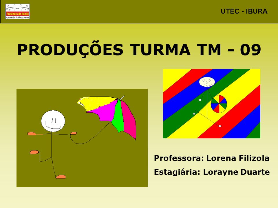 PRODUÇÕES TURMA TM - 09 Professora: Lorena Filizola