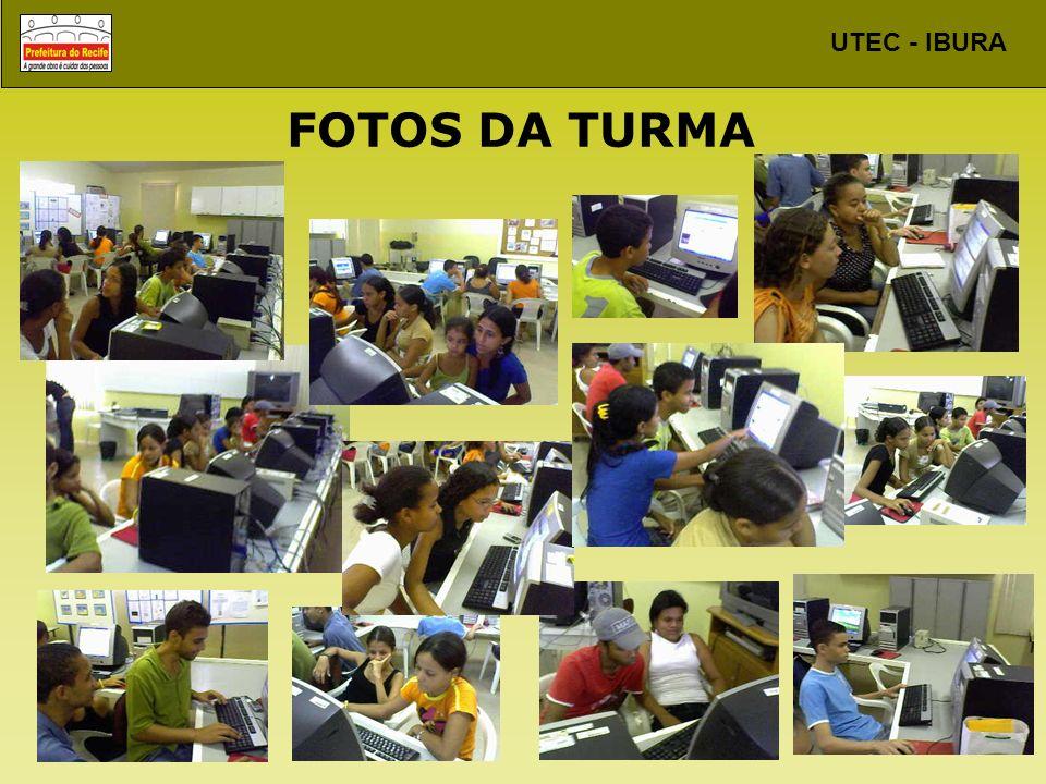 FOTOS DA TURMA
