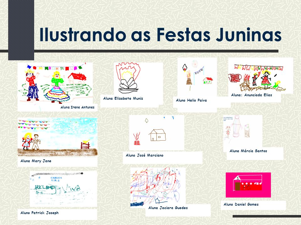 Ilustrando as Festas Juninas