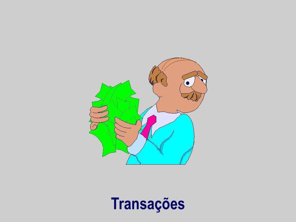 Transações
