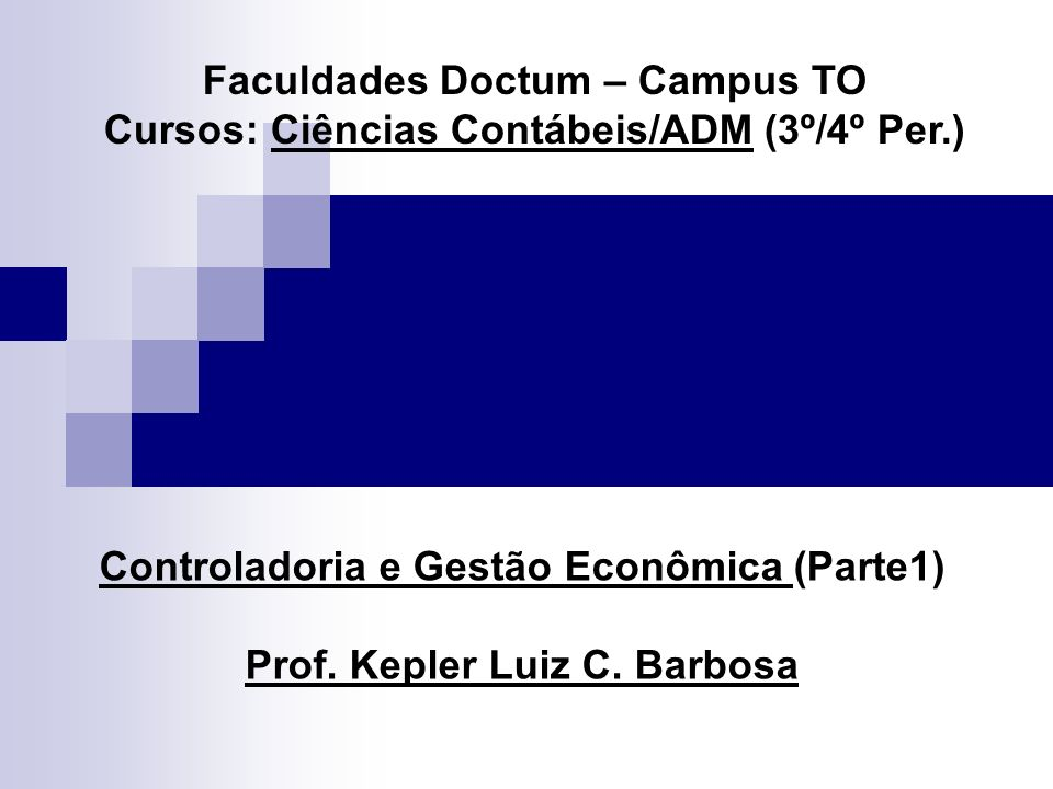 Faculdades Doctum – Campus TO