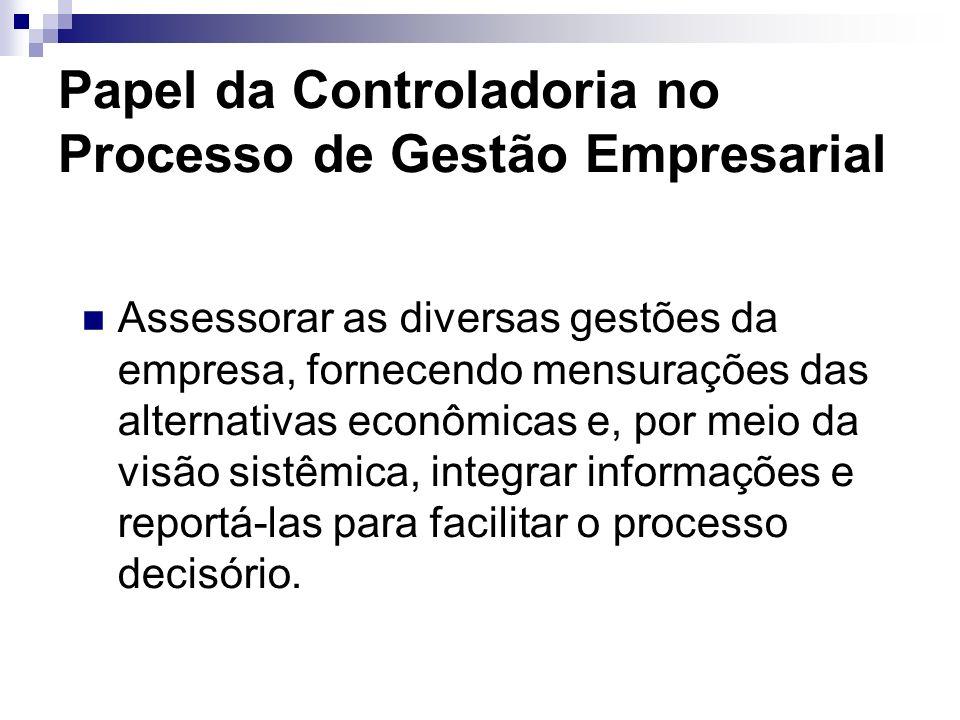 Papel da Controladoria no Processo de Gestão Empresarial