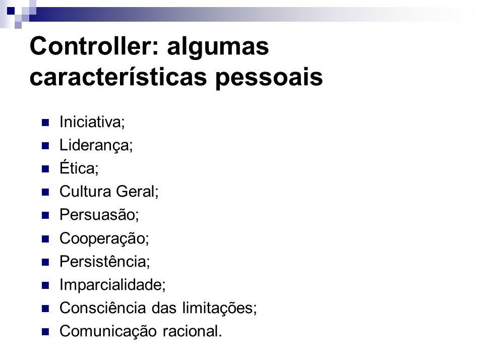 Controller: algumas características pessoais