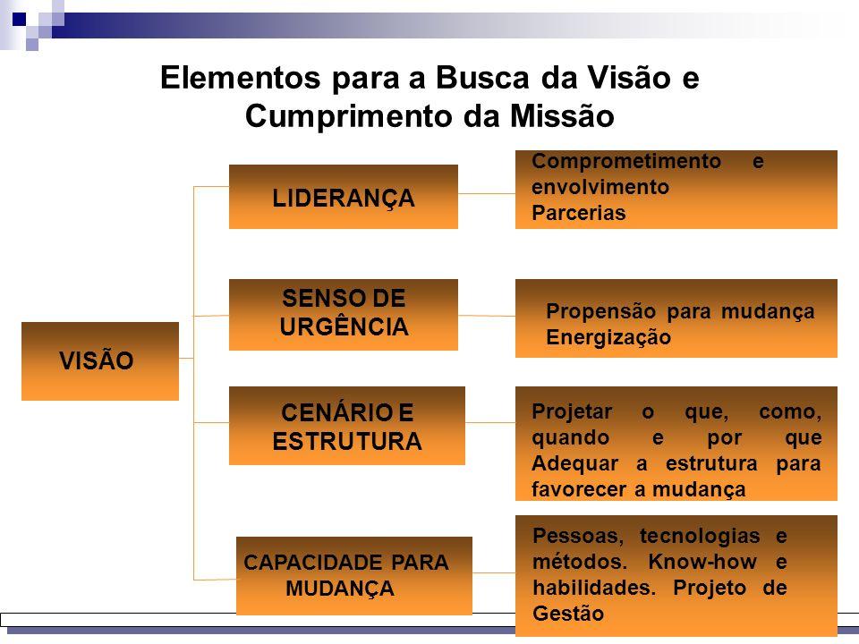 Elementos para a Busca da Visão e Cumprimento da Missão
