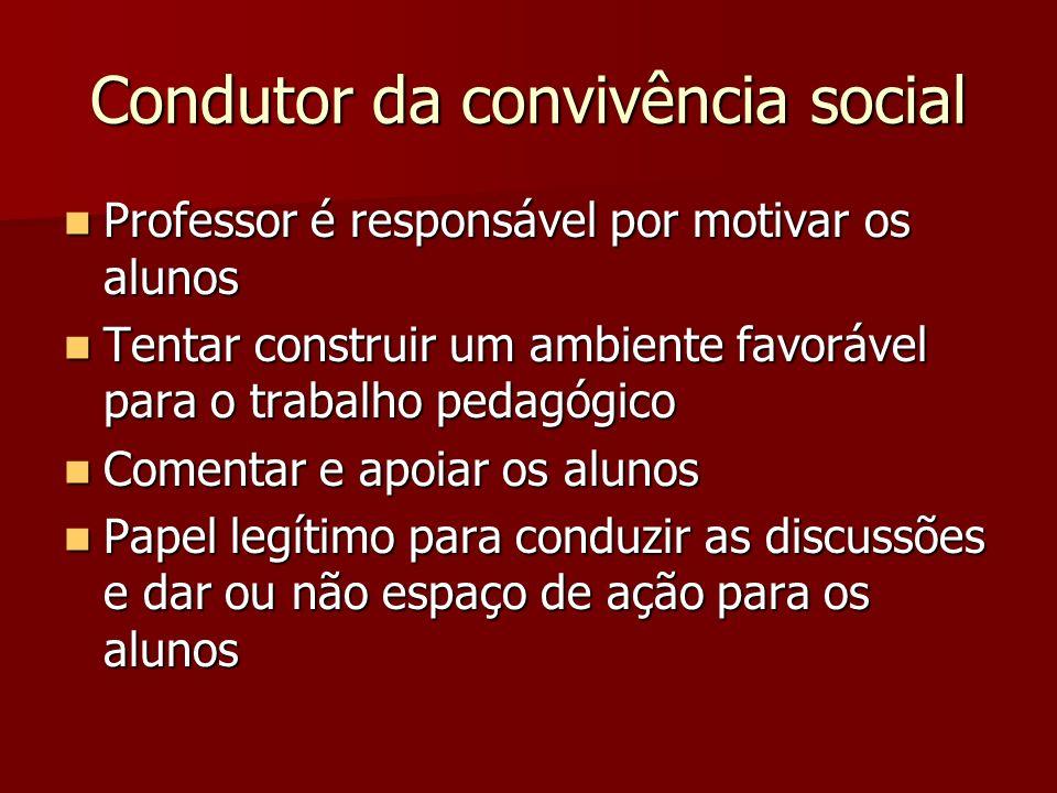 Condutor da convivência social