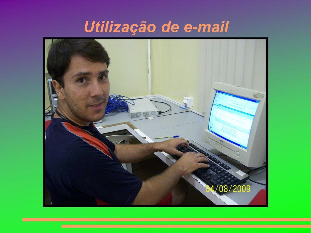 Utilização de e-mail