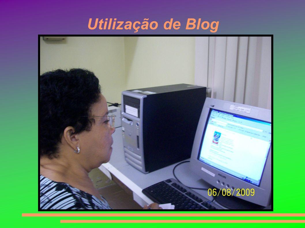 Utilização de Blog