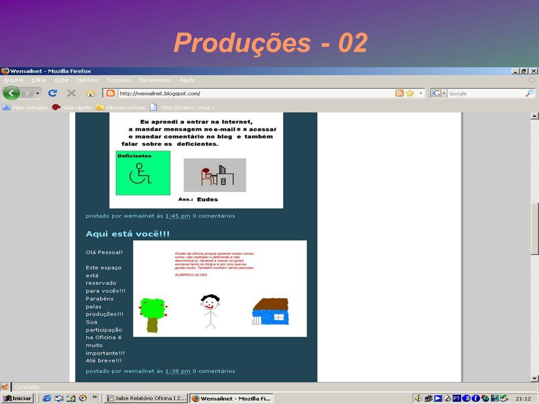Produções - 02