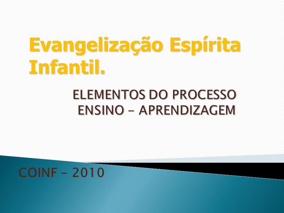 ELEMENTOS DO PROCESSO ENSINO - APRENDIZAGEM