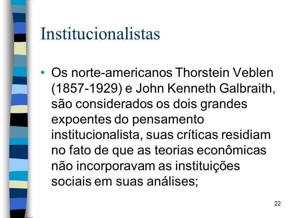 Institucionalistas