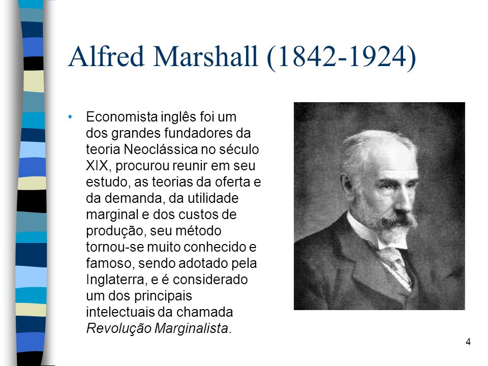 Alfred Marshall ( )