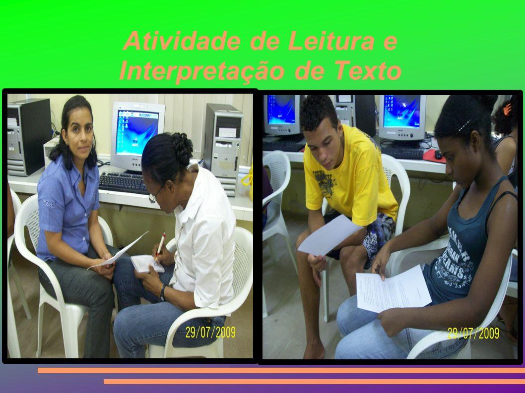 Atividade de Leitura e Interpretação de Texto