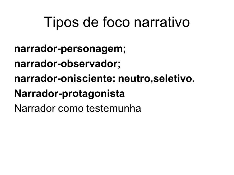 Tipos de foco narrativo