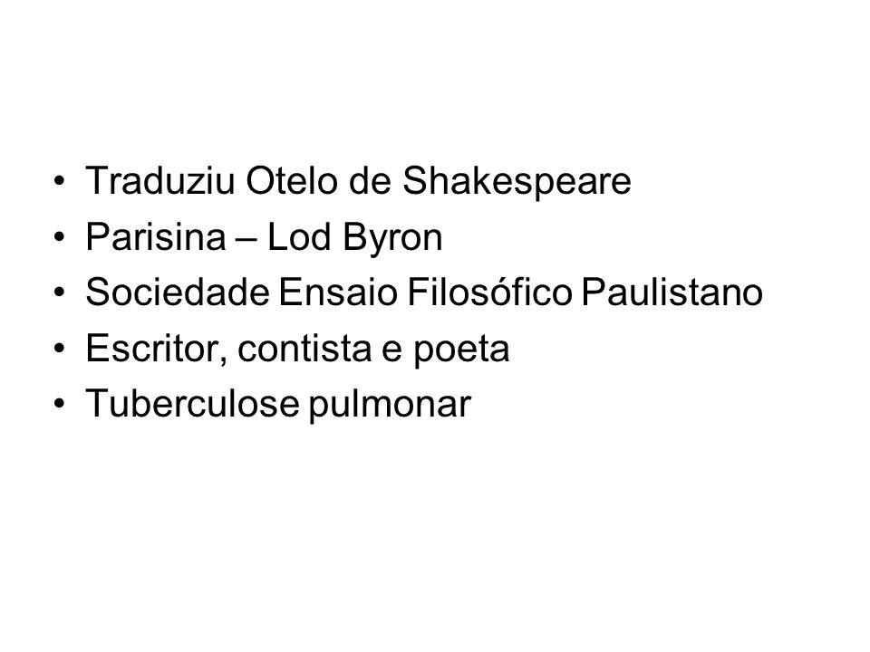 Traduziu Otelo de Shakespeare