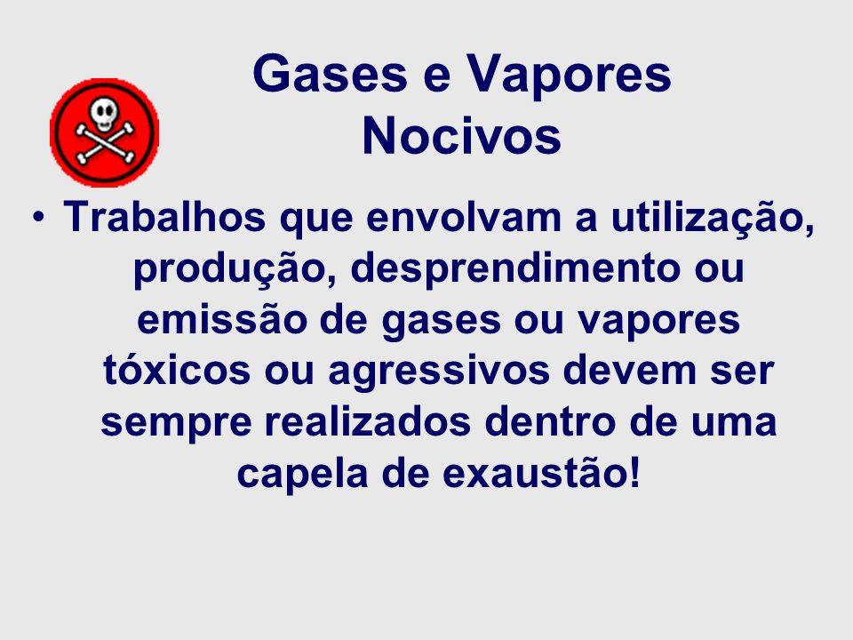Gases e Vapores Nocivos