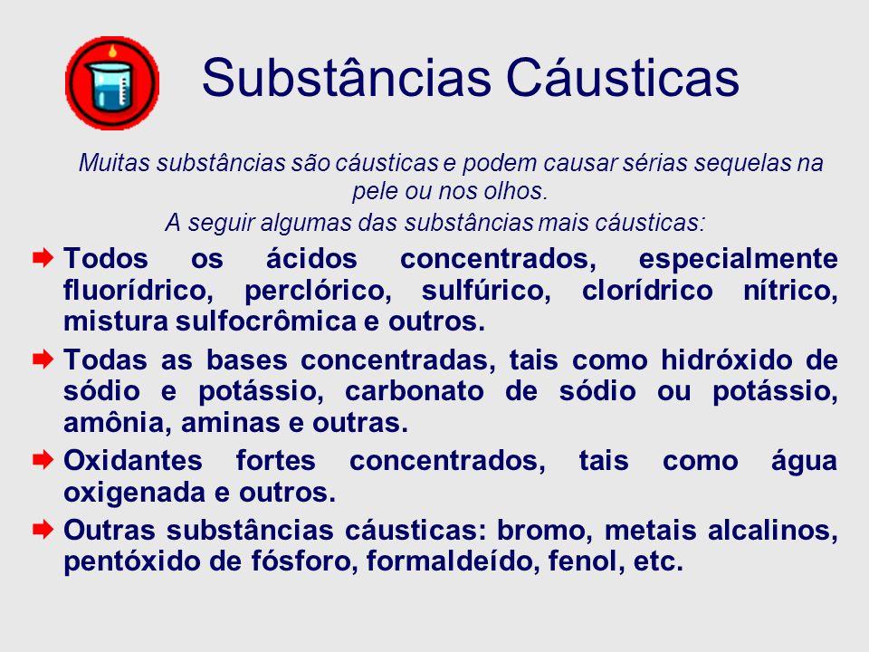 Substâncias Cáusticas
