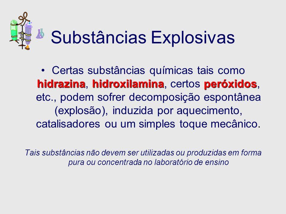 Substâncias Explosivas