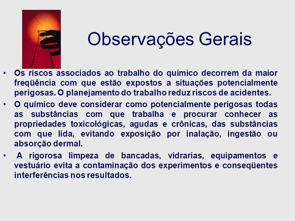 Observações Gerais