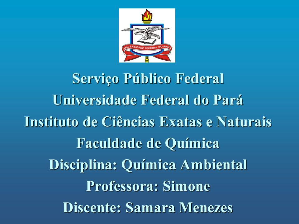 Serviço Público Federal Universidade Federal do Pará