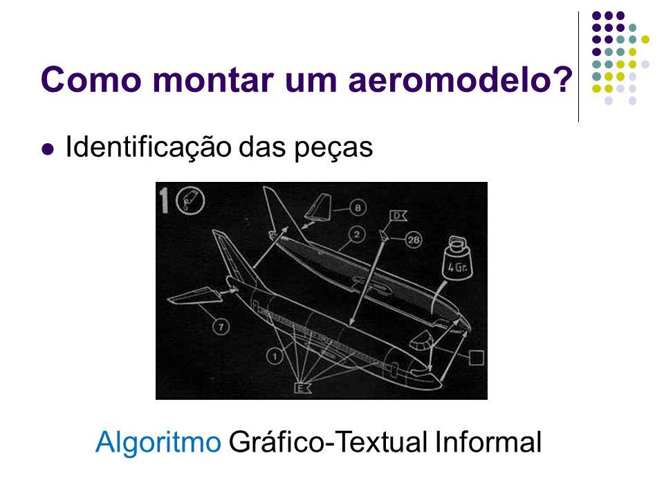 Como montar um aeromodelo