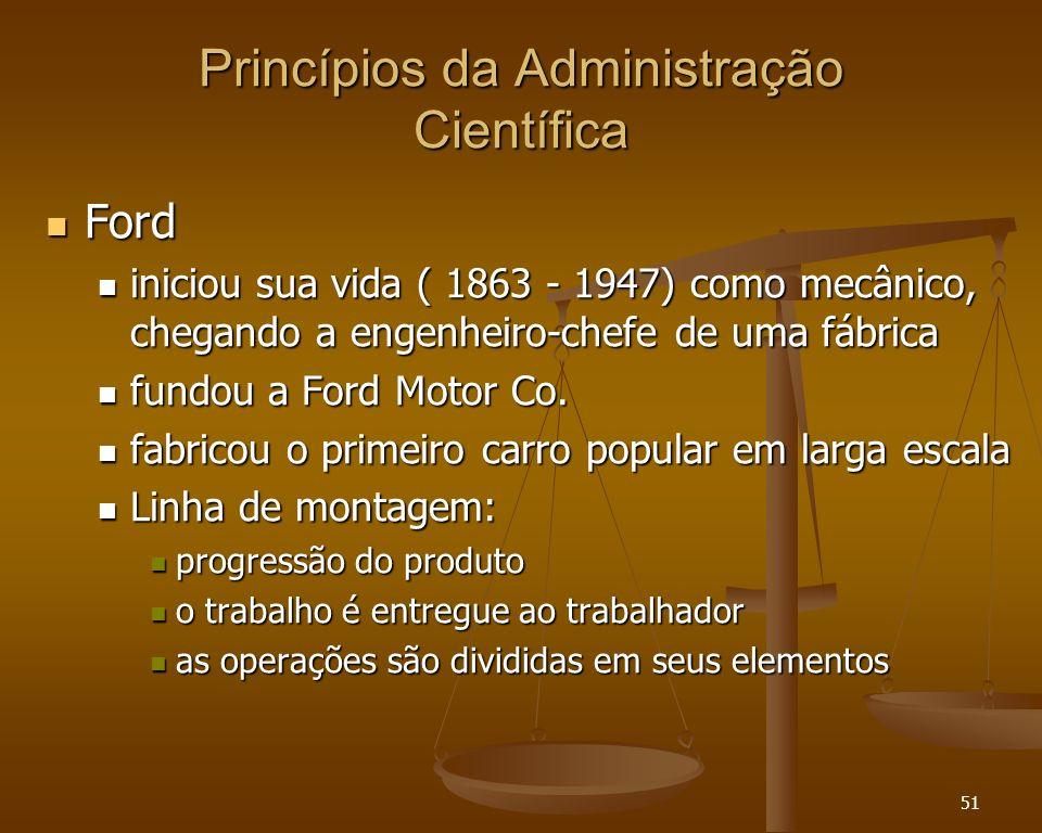 Princípios da Administração Científica