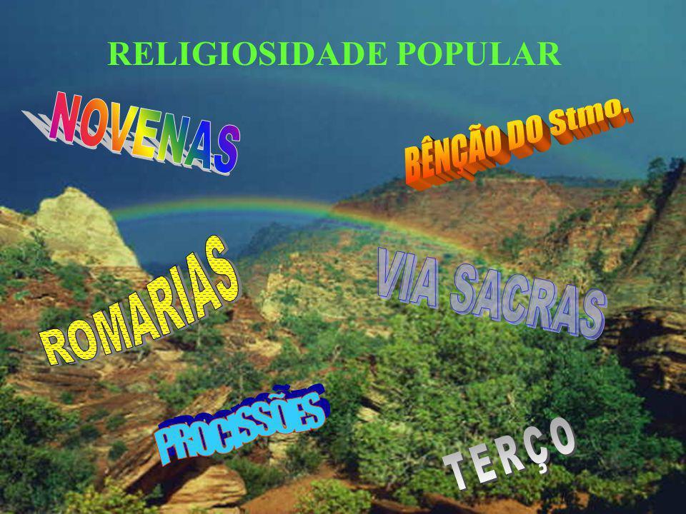 RELIGIOSIDADE POPULAR