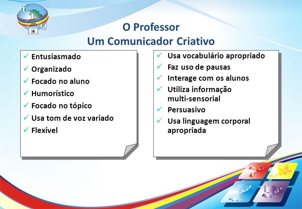O Professor Um Comunicador Criativo