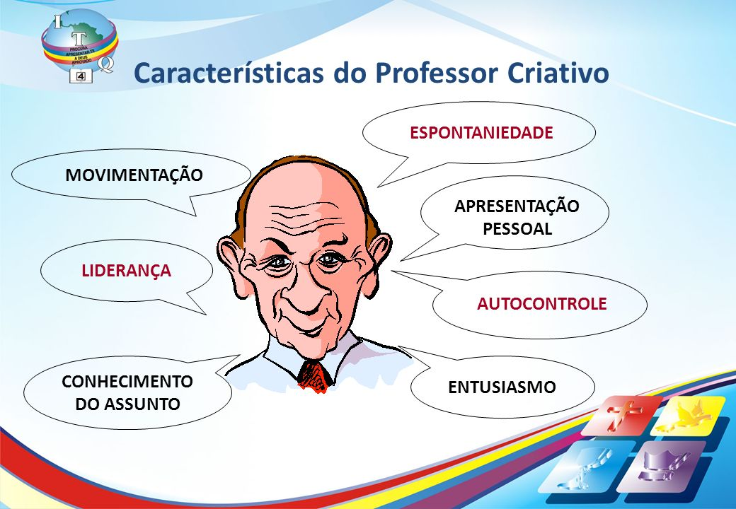 Características do Professor Criativo