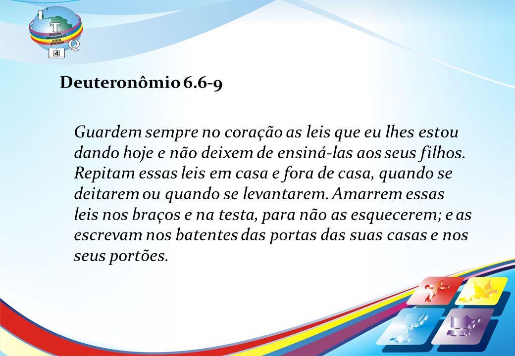 Deuteronômio 6.6-9