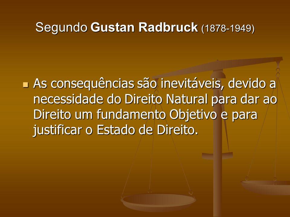 Segundo Gustan Radbruck (1878-1949)