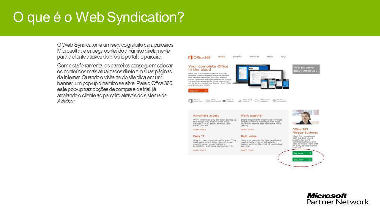O que é o Web Syndication