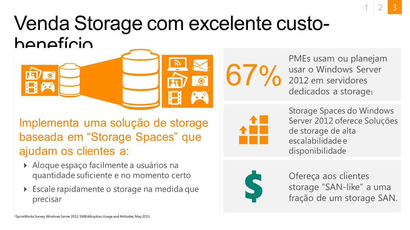 Venda Storage com excelente custo-benefício
