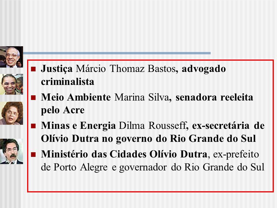 Justiça Márcio Thomaz Bastos, advogado criminalista