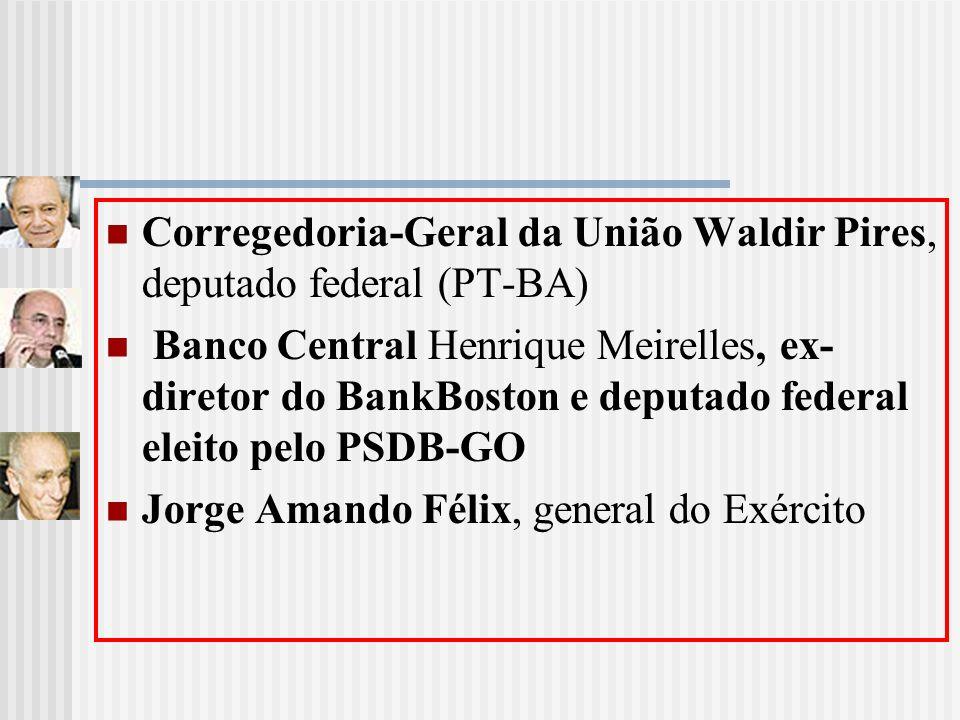 Corregedoria-Geral da União Waldir Pires, deputado federal (PT-BA)