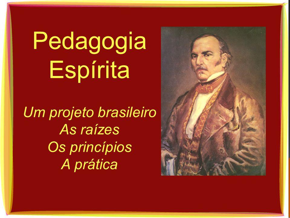 Um projeto brasileiro As raízes Os princípios A prática