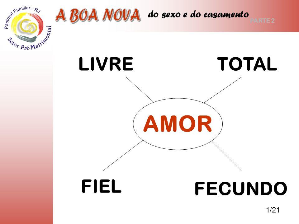 AMOR LIVRE TOTAL FIEL FECUNDO A BOA NOVA do sexo e do casamento 1/21