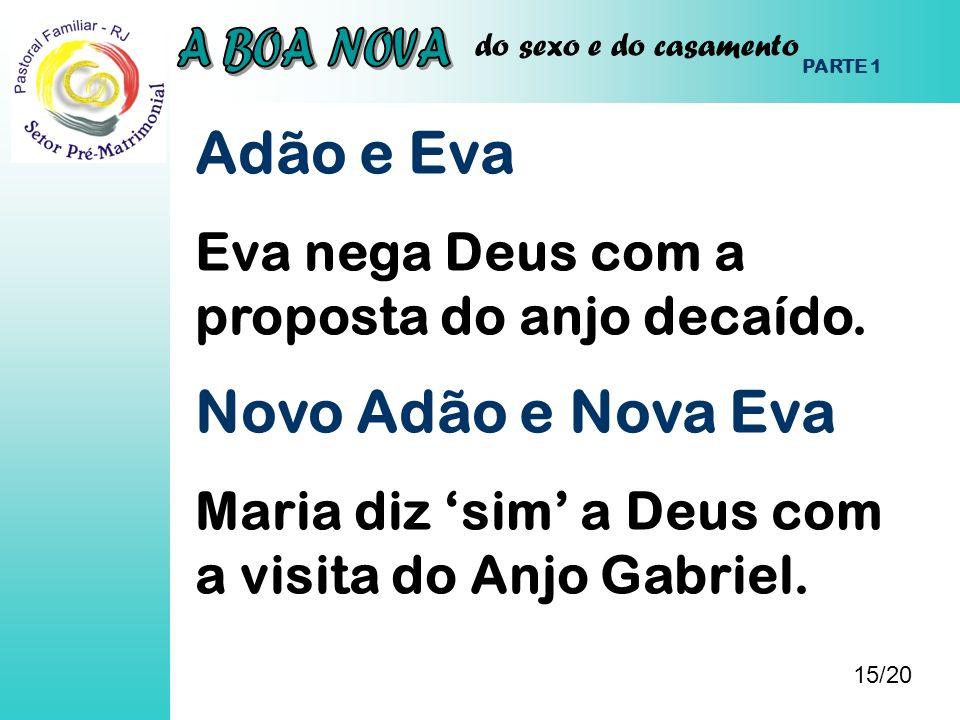 Adão e Eva Novo Adão e Nova Eva