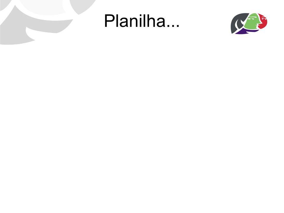 Planilha...