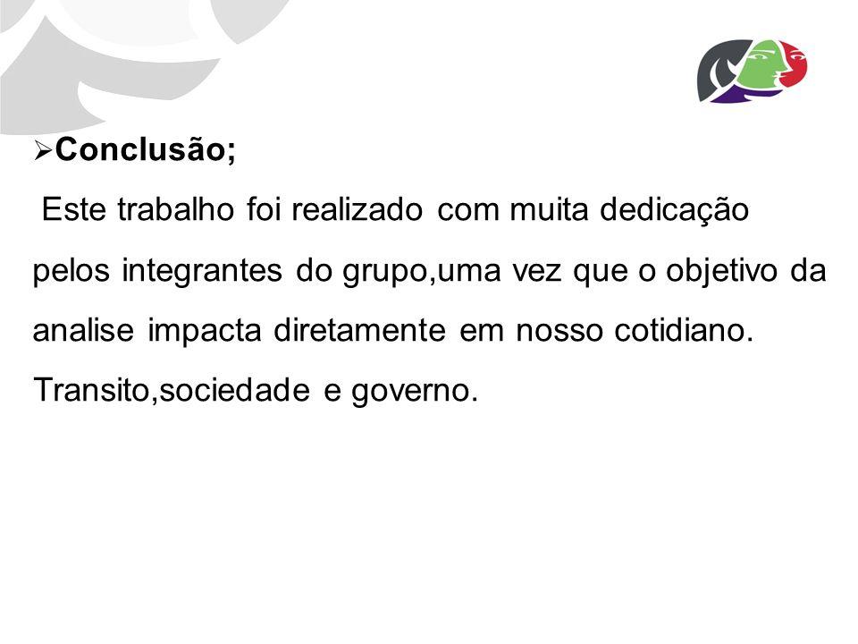 Transito,sociedade e governo.