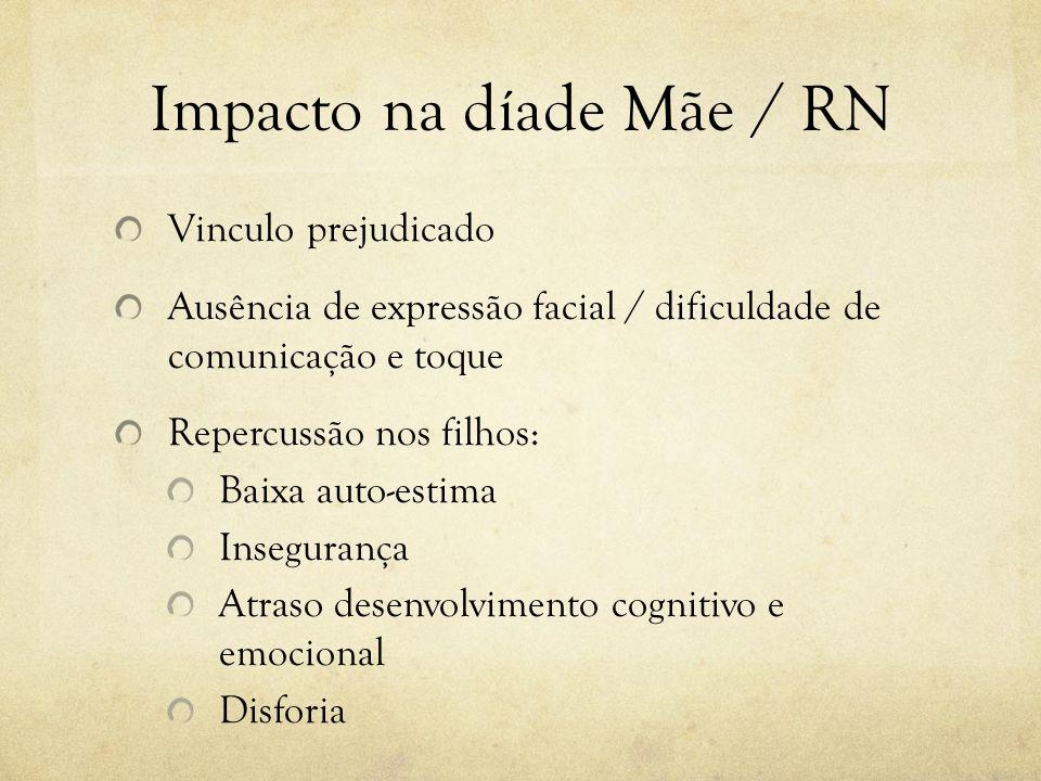 Impacto na díade Mãe / RN
