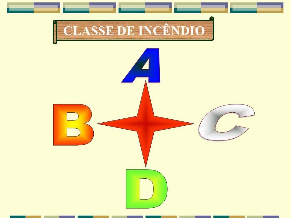 CLASSE DE INCÊNDIO A C B D