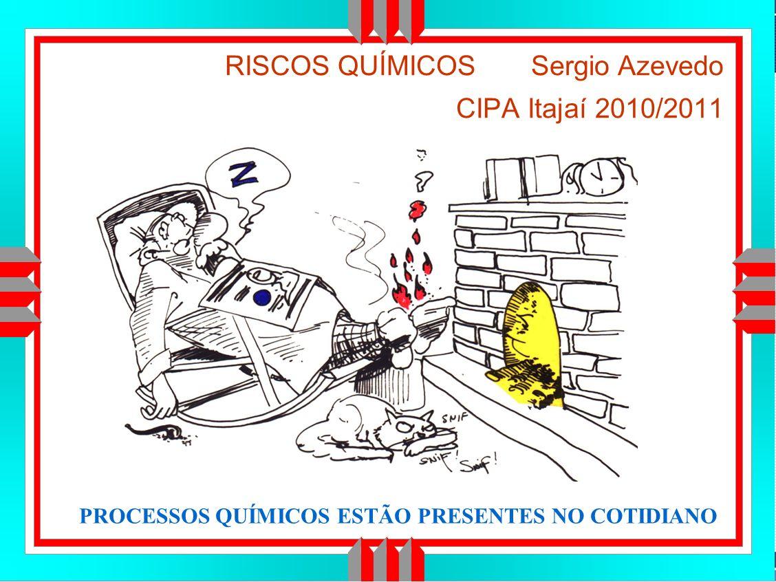 RISCOS QUÍMICOS Sergio Azevedo CIPA Itajaí 2010/2011