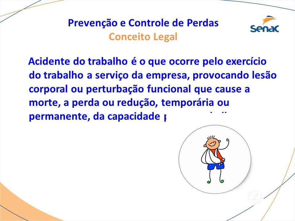 Prevenção e Controle de Perdas Conceito Legal