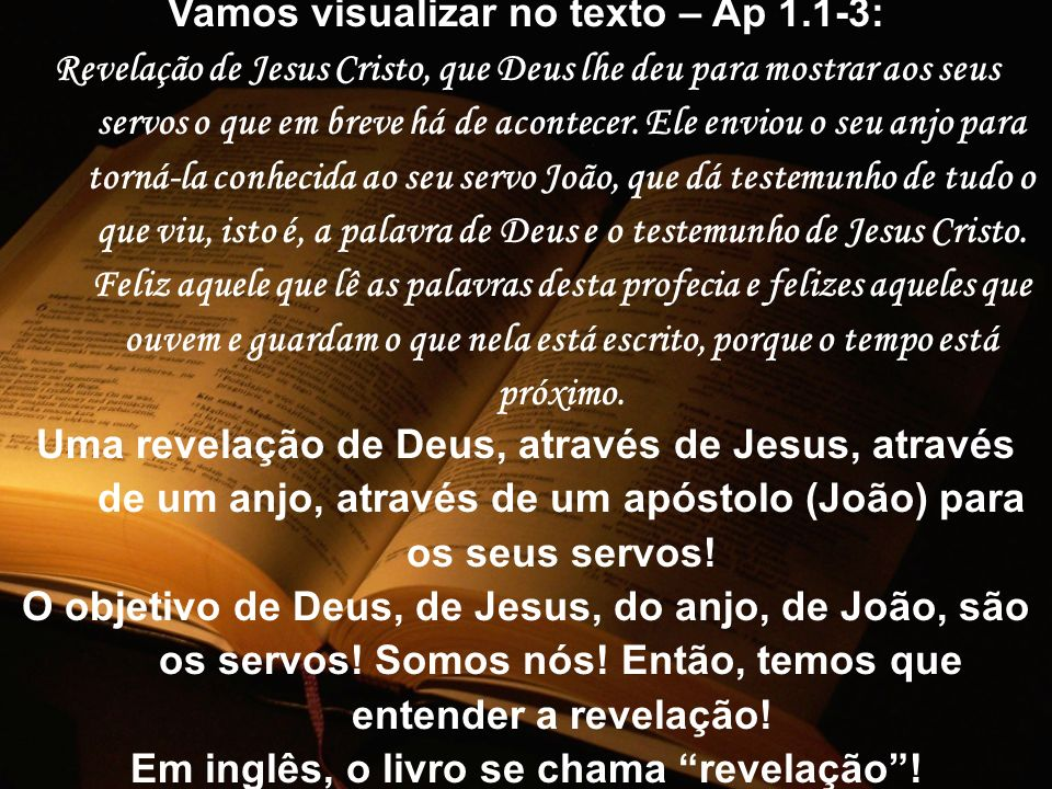 Vamos visualizar no texto – Ap 1.1-3: